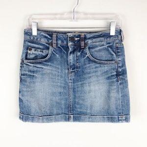 Adidas Originals | Trefoil Denim Jean Mini Skirt